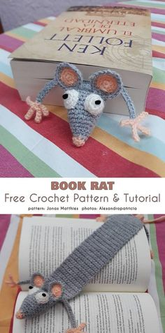Cute Tiny Amigurumi Patterns Cute Tiny Amigurumi Patterns,Crochet Häkeln Book Rat Free Crochet Pattern Related posts:Healthy Diet for Teenage Girls diet for teenagers Healthy Diet for Teenage Girls. - DietHow To Crochet An Easy. Marque-pages Au Crochet, Crochet Mignon, Crochet Patterns Amigurumi, Crochet Gifts, Cute Crochet, Crochet Toys, Crochet Stitches, Crocheting Patterns, Things To Crochet