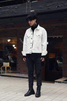these boots : streetwear korean streetwear, korea street fashion, seoul fashion, kpop Korean Street Fashion, Seoul Fashion, Korean Fashion Trends, Fashion Mode, Korea Fashion, Kpop Fashion, Asian Fashion, Trendy Fashion, Fashion Outfits