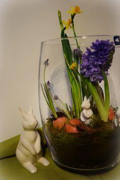 Dekoration mit Eierschalen #Osterdeko #Ostern
