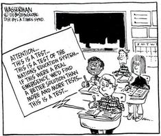 We need less testing, not more!