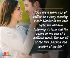 Romantic Love Messages For Husband - A Warm Cup Of Coffee