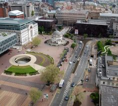 RIBA Launches Centenery Square Regeneration Competition for Birmingham