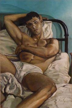 Males in Art: The Intimate Companion