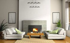 Integrate fireplace mantels in the rooms in conformity with the interior looks and accordingly there are modern , classic and many other creative fireplace mantel decoration ideas that will help you select one for your decor needs.