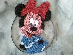 Minnie Mouse quilling