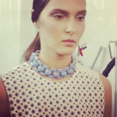 We got up close with the ever-enchanting prints from @JW_ANDERSON #ss13 Pretty as a daisy!