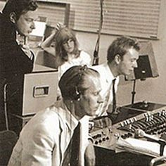 Very important trio- Brian Epstein, George Martin and Geoff Emerick