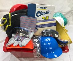 For small businesses/individuals, we have quality products at rock bottom prices!  Hard Hats Boots Shoe Covers Earplugs Eye Protection Disposable Gloves and MUCH MORE!  Reach out to us for your product pricing and availability.  We can also provide you with regular updates as new items become available in our bargain basket.  Orders of $49.99 and up will receive FREE shipping!  #Sale #Bargain #Basket #Safety #Business