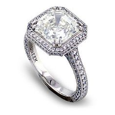 i'm quite sure this ring would break my finger. however, i'd endure the pain to have a rock like that.