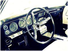 1967 Chevy Impala interior