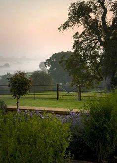 Farmhouse garden.UK
