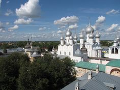 Панорама Ростовского кремля