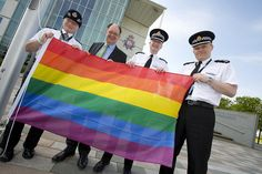 police flag day