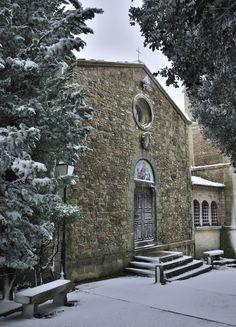 Camporsevoli (Piazze, Cetona - SI): Chiesa di San Giovanni Battista.
