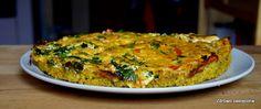 quiche jaglana z warzywami i tofu