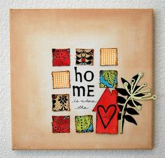 Mini Canvas Art Inspiration ~  cook_assign3.3.1 by craftwarehouse, via Flickr