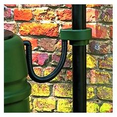 The ingenious Harcostar Downpipe Connector Rain Trap will fit all regular sized downpipes of 63, 68, 80 and 100mm diameter, plus 61 and 65mm square.   Harcostar Downpipe Connector Rain Trap - Harrod Horticultural