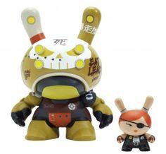 Huck Gee x Kidrobot: Penelope McStompsalot Dunny / Виниловые игрушки / Всё о дизайнерских виниловых игрушках - Vinyltoys.kz