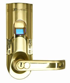 iTouchless Finish Left Handled Fingerprint Door Lock