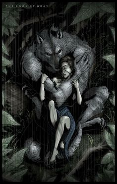 surreal red riding hood and the big bad wolf Dark Fantasy Art, Dark Art, Wolf Love, Werewolf Art, Alpha Werewolf, Vampires And Werewolves, World Of Darkness, Big Bad Wolf, Red Riding Hood