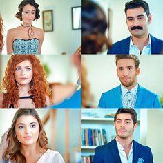 Girl Couple, Cute Love Couple, Teen Celebrities, Celebs, Murat And Hayat Pics, Pakistani Bridal Wear, Hande Ercel, Turkish Beauty, Cute Songs