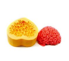 Soap Mold Soap Mould Silicon Mold Candle Mold Resin Mold Heart Shape Rose