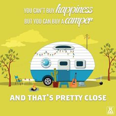 Ah, the art of glamping. Combining chic ideas with the outdoors, glamping is a way to have fun and be comfortable. Not quite camping yet not quite a s. Camping Signs, Camping Humor, Camping Glamping, Camping Life, Rv Life, Funny Camping, Camping Cabins, Campsite, Happy Campers