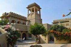 Beispiel im Mihir Garh Hotel nahe Jodhpur, India
