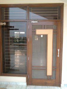 House Window Design, Wooden Front Door Design, Window Grill Design, Room Door Design, Wood Front Doors, Door Design Interior, Bedroom Bed Design, House Front Design, Wooden Doors