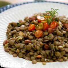 Salada de lentilha - Culinarístico