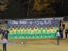 SCHS versus Grundy County 10-30-2015  SENIOR NIGHT
