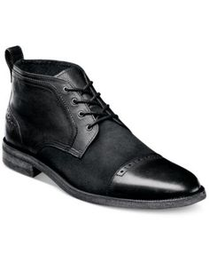 Stacy Adams Beckett Cap Toe Chukka Boots   macys.com