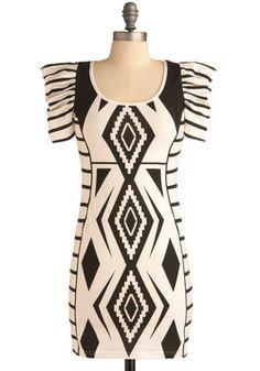 Gregarious Geometry Dress