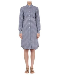 E. TAUTZ - Short dress Short Dresses, Dresses For Work, Check, Fashion, Short Gowns, Moda, Fashion Styles, Fashion Illustrations, Fashion Models