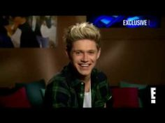 Niall Horan Interview - E News! Oh my gosh he was so sweet when he was asked about the paps.I think they need to back off but Niall was super sweet! One Direction Videos, Members Of One Direction, Liam James, James Horan, Niall Horan Interview, Rip Apart, Louis Williams, Back Off, Friends Show