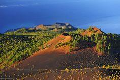 Wandelen langs de vulkaan op La Palma