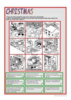 CHRISTMAS worksheet - Free ESL printable worksheets made by teachers