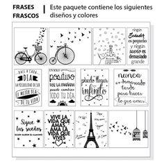 Etiquetas Para Frascos, Frases, Vinilo Transparente - $ 120,00