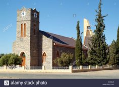 Stock Photo - Catholic church in the town of Pofadder in the Namakwa area of the northern cape South Africa South Africa, Catholic, Cape, Stock Photos, Mansions, House Styles, Building, Travel, Mantle