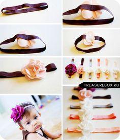 повязки на голову для девочек