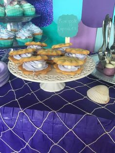 Gabrielle's little mermaid party  | CatchMyParty.com