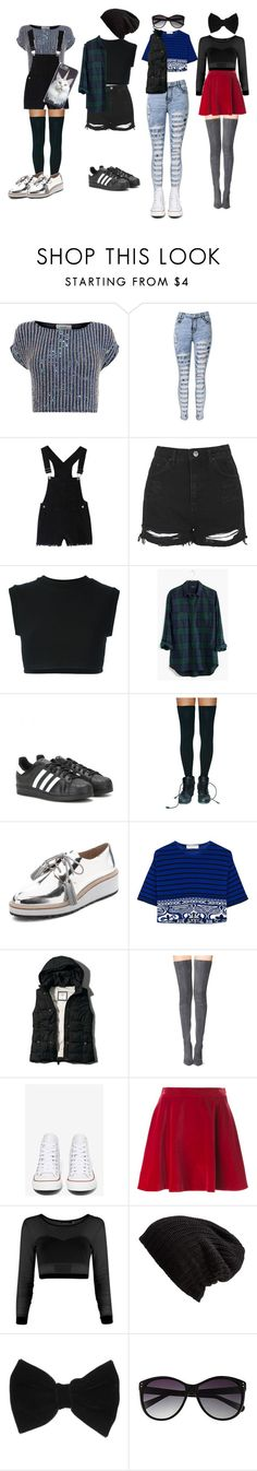 """""""Untitled #22"""" by miaaa08 ❤ liked on Polyvore featuring Coast, Topshop, adidas Originals, Madewell, adidas, Ana Accessories, Loeffler Randall, Emilio Pucci, Abercrombie & Fitch and Tamara Mellon"""
