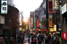 Even in the hustle and bustle of a city like Tokyo sunsets are breathtaking #sunsets #tokyo