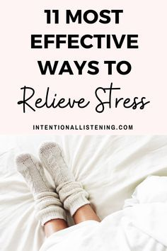 11 Ways to Relieve Stress When Times Are Tough - Intentional Listening Stress Relief Quotes, Stress Relief Tips, Stress Free, Coping With Stress, Stress And Anxiety, Feeling Stressed, How Are You Feeling, Ways To Relieve Stress, Reduce Stress