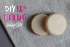Recept na DIY tuhý deodorant
