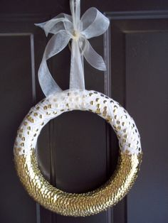 Thumbtack and Book Page wreath from Inspiration Affirmation