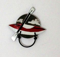 Kayak Magnetic Eyeglass Holder by LauraWilsonGallery on Etsy, $45.00