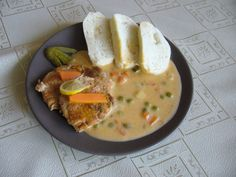 Pork loin over Bratislava Pork Loin, Thai Red Curry, Bratislava, Ethnic Recipes, Pork, Pork Fillet