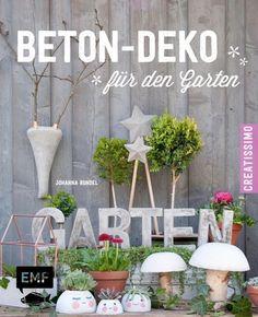 JOHANNA RUNDEL Beton-Deko für den Garten ******NEU & KEIN PORTO******