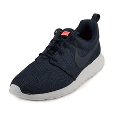 798f2edf8bf7 Nike Womens Roshe One Moire ObsidianObsdn White Brght Mng Running Shoe 10  Women US --
